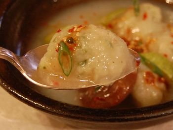 Potato Sujebi, Korean Gnocchi Soup