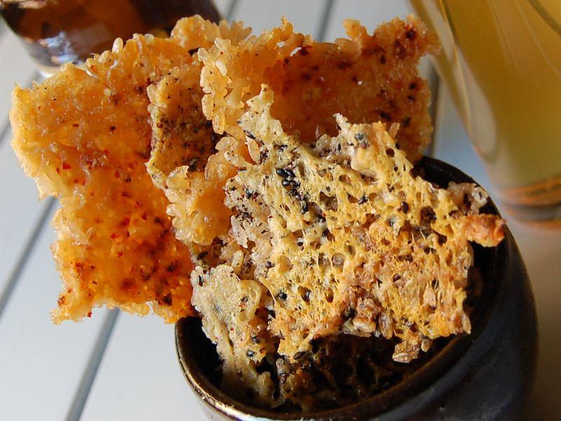 Nurungji chips