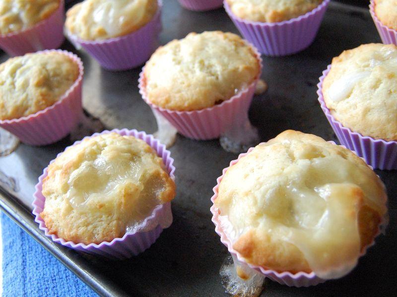 Patbingsu cake - after baking