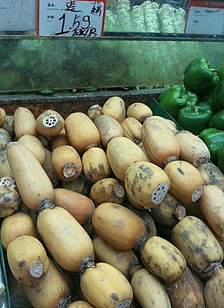 Lotus Roots at market