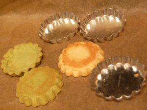 Soy pulp cookie shells - after