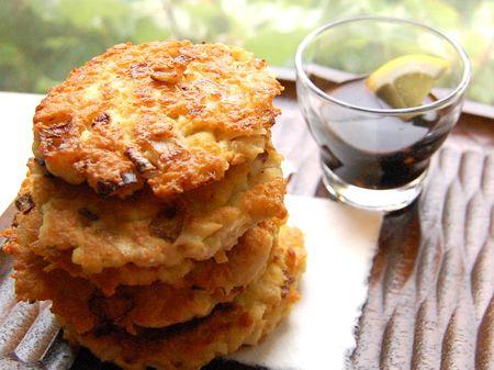 Tofu Tuna Pancakes (두부 참치전)