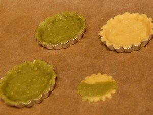 Soy pulp cookie shells