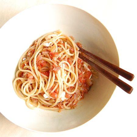 Tomato Sauce & Smoked Mozzarella