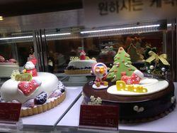 Pororo Xmas cake @Paris Baguette (Koreatown)