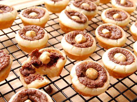 Nutella Mochi Bites