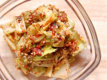Kimchi-Style Celery Salad