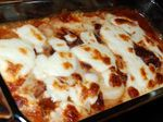 Lasagna with Sliced Rice Cakes