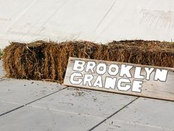 Brooklyn Grange Signage @The Brooklyn Navy Yard