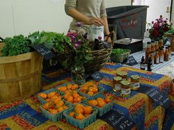 Farmers' stand @Brooklyn Grange