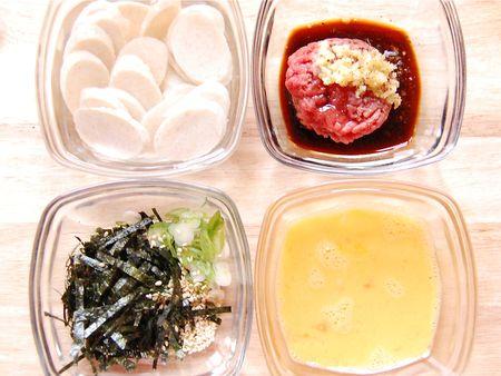 Rice Cake Soup Preparation