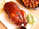 Roasted Duck with Gochujang Orange Glaze