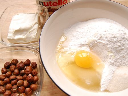 Nutella Mochi Bites Prep