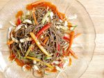 Spicy Noodle Salad (비빔국수 2 - bi bim guk su)