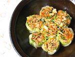 Spicy Turkey in Cabbage Wraps
