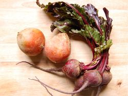 Red & yellow beets