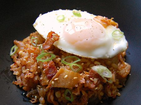 Kimchi Bacon Fried Rice - a year-round keeper