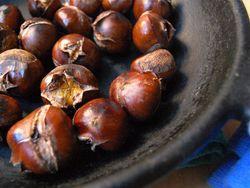Roasted Chestnuts (군밤 gun bahm)