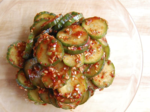 Kimchi-Style Cucumber Salad