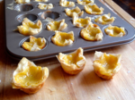Chinese Egg Custard in Mini Phyllo Shells