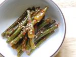 Spicy-Tangy Garlic Scale Salad (마늘종 무침)