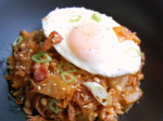 Kimchi Bacon Fried Rice (김치 볶음밥)