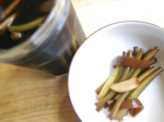 Pickled Garlic Scapes (마늘종 장아찌)