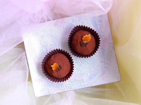 Clementine Chocolate Truffles