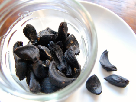 Homemade Black Garlic in Rice Cooker