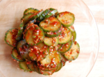 Kimchi-Style Cucumber Salad (오이무침)