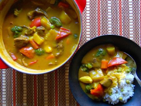 Curry Rice (카레 라이스)