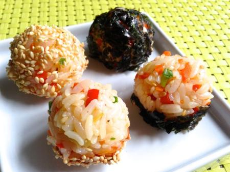 Rice Balls (주먹밥 ju meok bap)