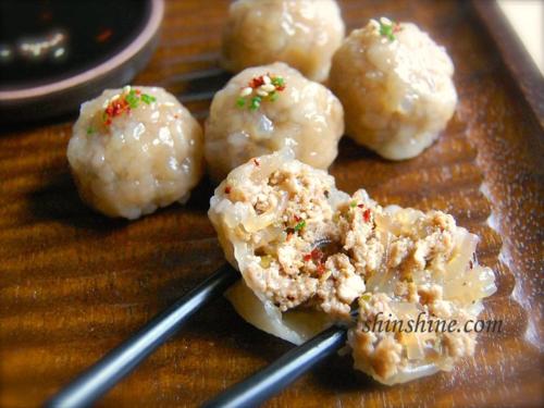 Rolled Dumplings (굴림 만두, Gullim Mandoo, aka Naked Dumplings)