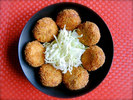 Thanksgiving Leftover Croquettes (고로케)