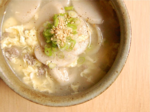Simple Rice Cake Soup (떡국 ddeok guk)