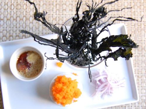 Seaweed Salad (미역 초고추장 무침) Ingredients