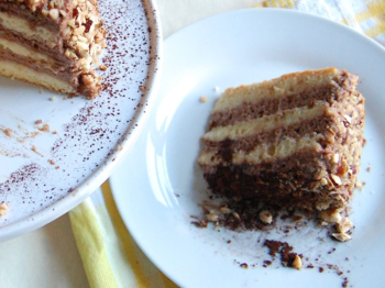 A slice of Nutella cake will give you a smile anytime!