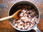 Red Bean Rice (팥밥) on Stovetop